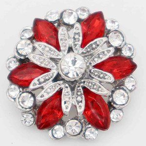 Red Snap For Snap Jewelry